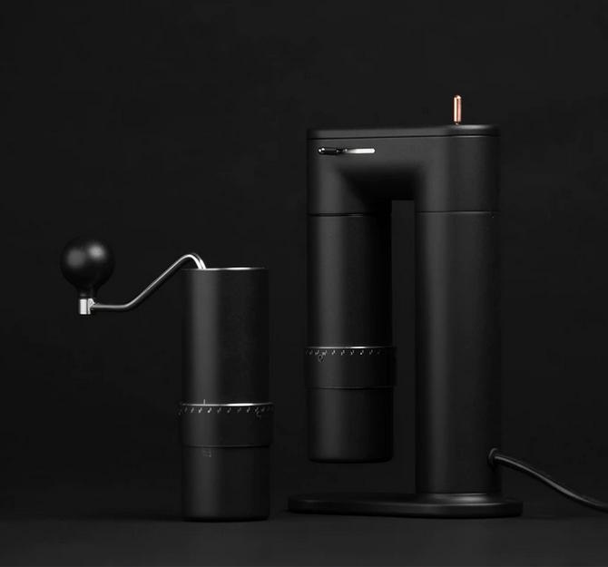 ARCO 2-in-1 Coffee Grinder – mit Handkurbel oder elektrisch Kaffee mahlen