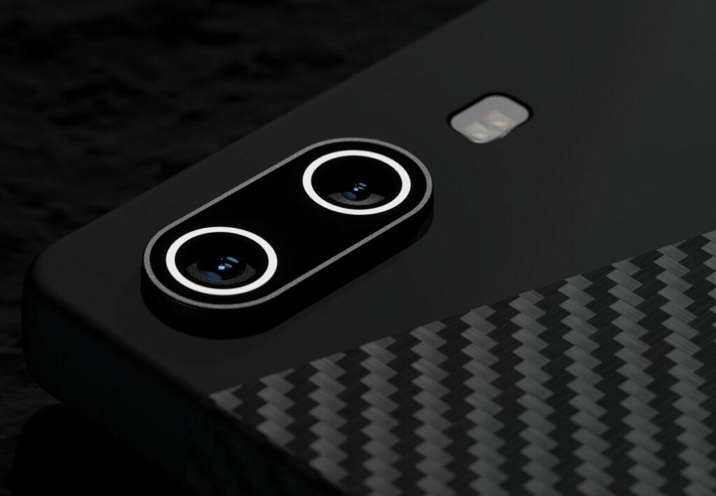 Carbon 1 MK II Smartphone Ansicht Kamera