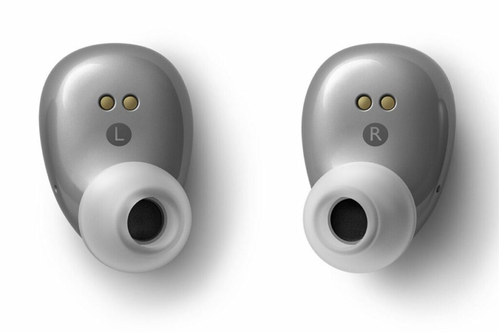 KEF Mu3 Wireless Kopfhörer in silbergrau